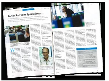 """""""Guter Rat vom Spezialisten"""" - Artikel von Jürgen Reinold"""