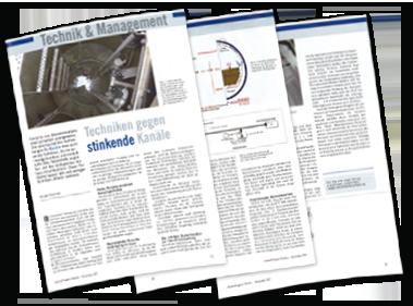"""""""Technik gegen stinkende Kanäle"""" - Artikel von Jürgen Reinold"""