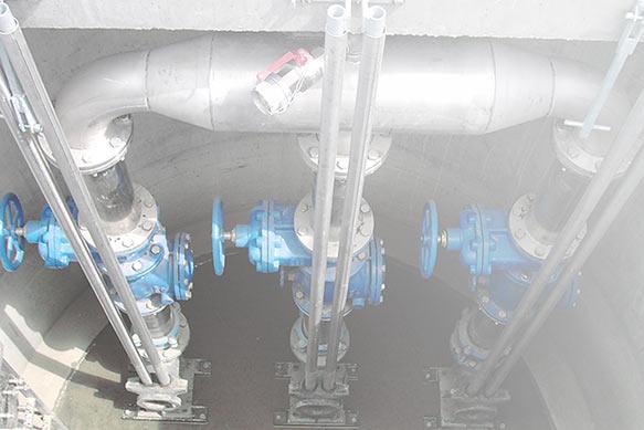 Bau von wassertechnischen Pumpanlagen